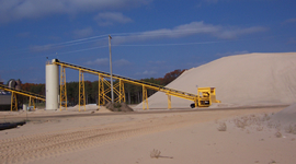 Nugent Sand is a leader in the MidWest for frac sand mining